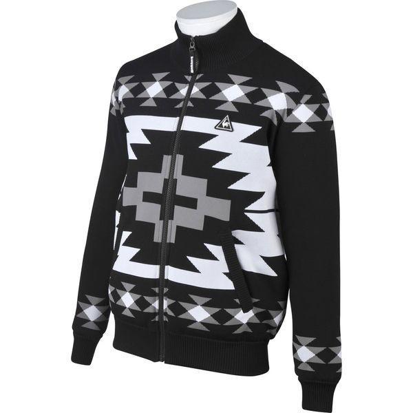 ルコック ゴルフウェア メンズ セーター/カーディガン QGMMJL09 BK00 ブラック le coq sportif 秋冬 18fwct