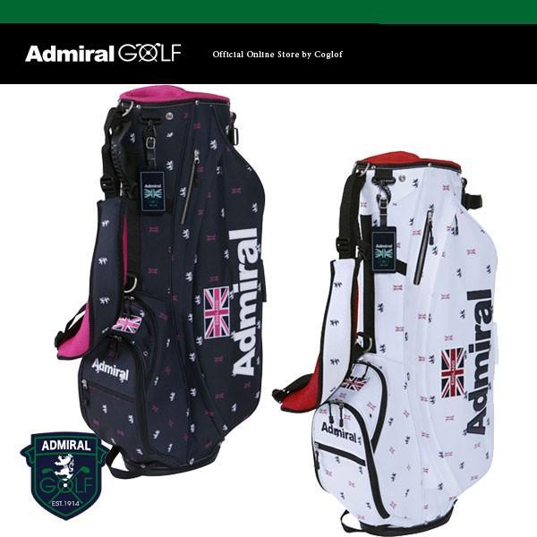 アドミラル ゴルフ スタンド キャディ バッグ 8.5型 46インチ対応 モノグラム ADMG 5SC4 ADMIRAL GOLF 日本正規品 / STAND BAG