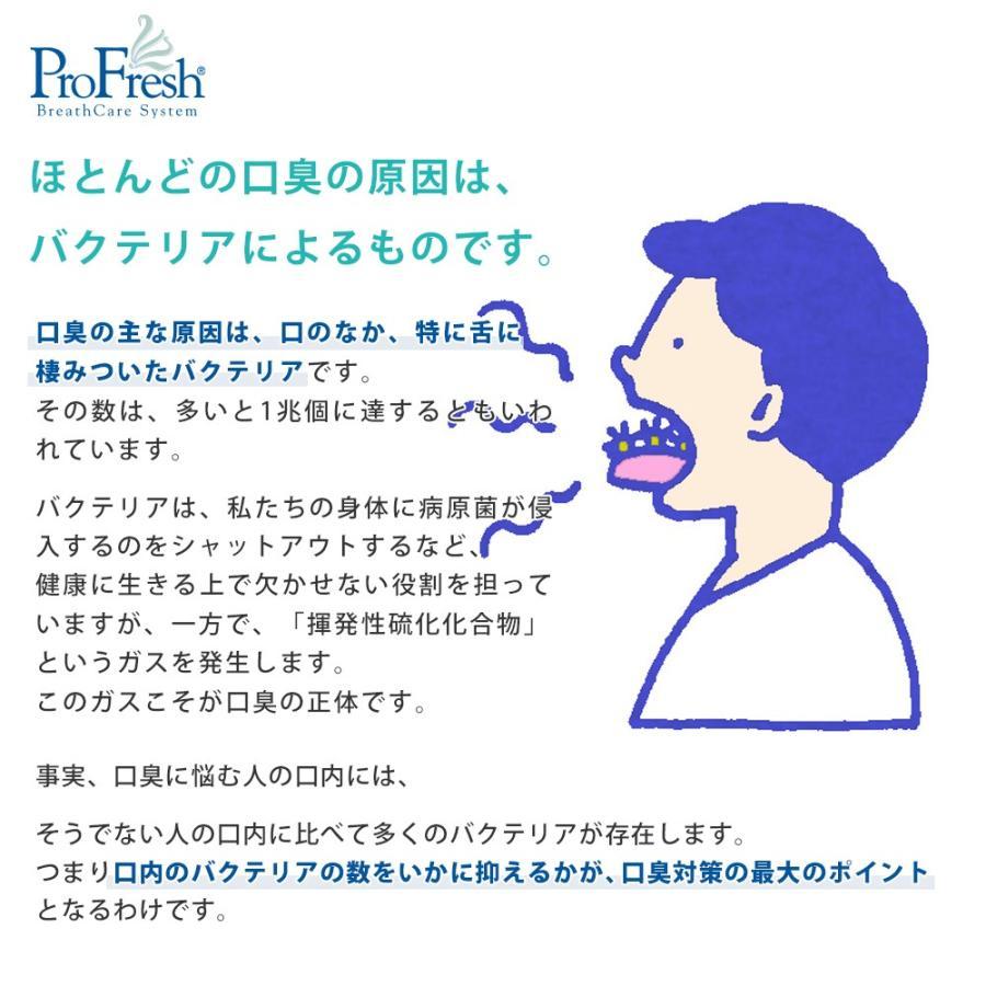 プロフレッシュ オーラルリンス 口臭予防 マウスウォッシュ 特別キット 口臭ケア ProFresh 集中ケア 公式 オーラルケア 就活 面接 マナー|alphanet|03