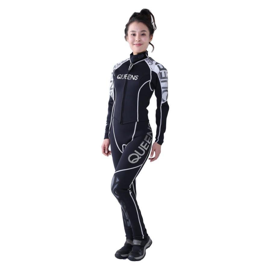 J-FISH ウェットスーツ レディース 【クイーン ロングジョン&ボレロ】