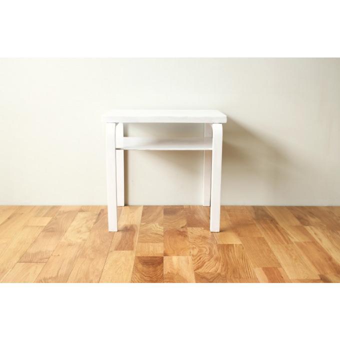 Artek Side Table 30s repaint WH