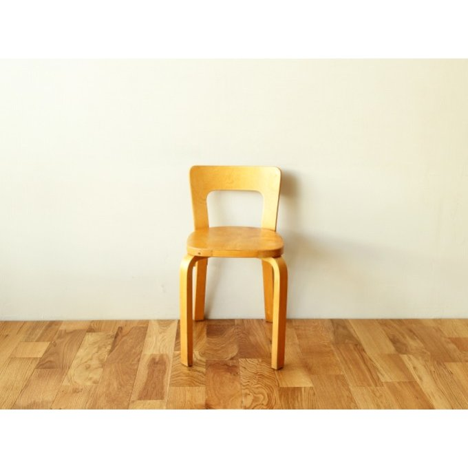 Artek Chair A65 A65 natural ca40s-d