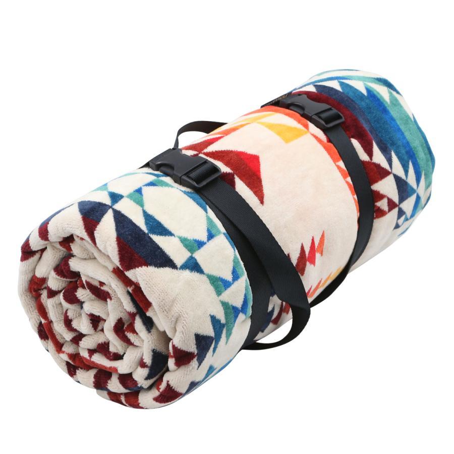 ペンドルトン PENDLETON タオル フォー トゥー ブランケット Towels For Two Pilot Rock Ivory マルチカラー 157cm×177cm XB242 53912|alterego|02