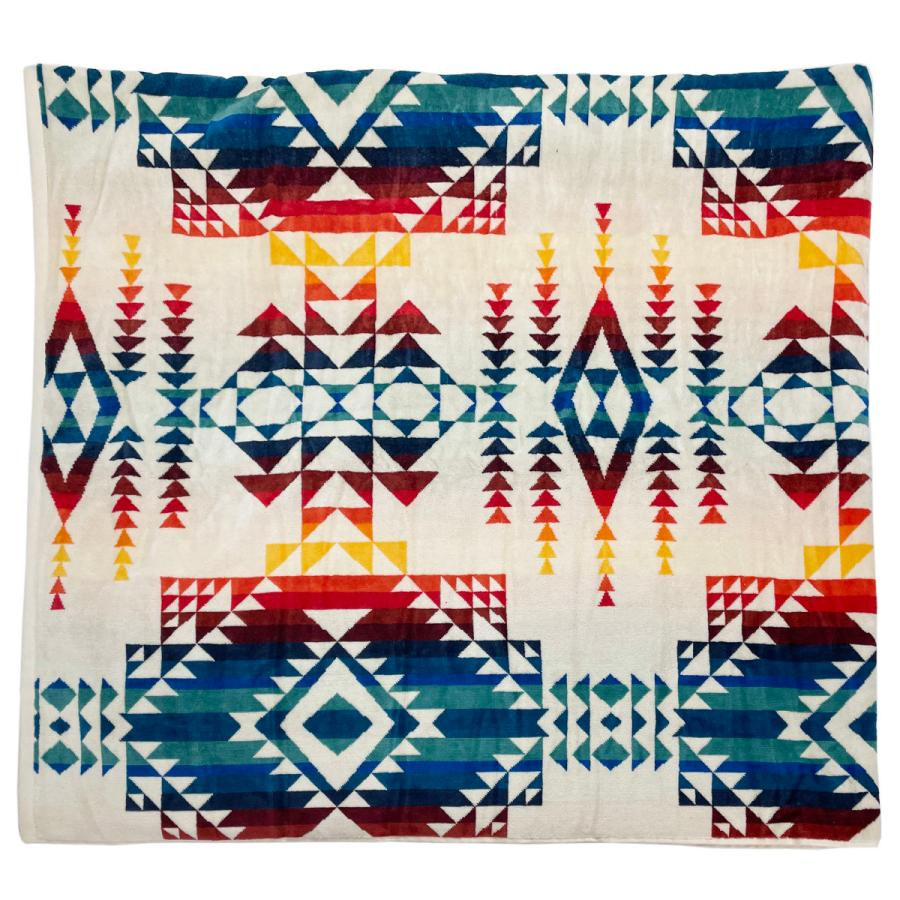 ペンドルトン PENDLETON タオル フォー トゥー ブランケット Towels For Two Pilot Rock Ivory マルチカラー 157cm×177cm XB242 53912|alterego|07