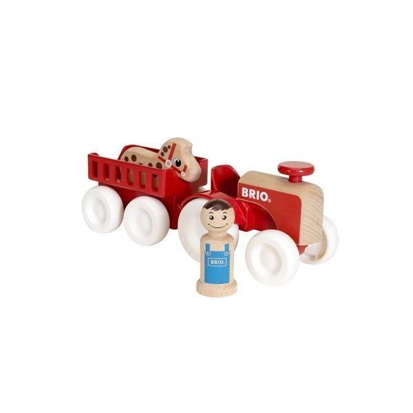 BRIO (ブリオ) ファームトラクターセット 誕生日プレゼント ギフト