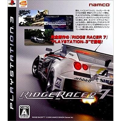 リッジレーサー7 バンダイナムコエンターテインメント (分類:プレイステーション3(PS3) ソフト)