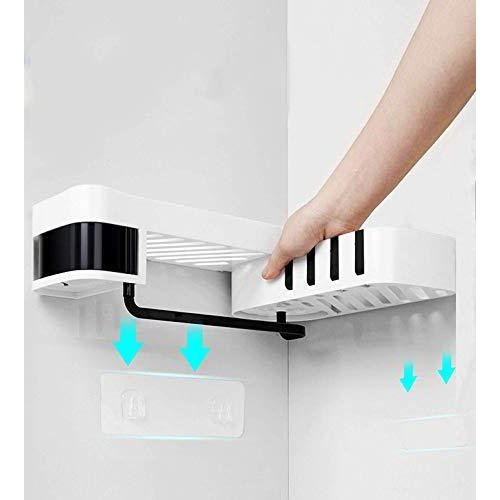【2020年人気】浴室用ラック シャワーラック バスルームラック UMIHOS お風呂 ラック 強力粘着固定 水切り コー?|amade