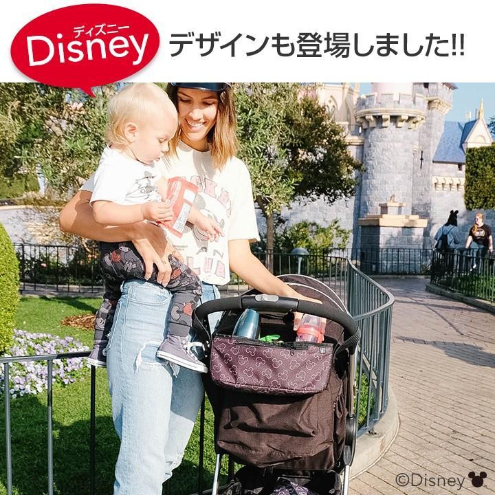 ベビーカー用 バッグ ドリンクホルダー 小物入れ ミッキーマウス ディズニー 収納 日本正規品保証1年アメリカ人気ブランド J.L. Childress   カップホルダー|amazing-green|13