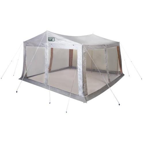 キャプテンスタッグ(CAPTAIN STAG) テント タープ サンシェルター ラニーメッシュ [6人用]M-8717