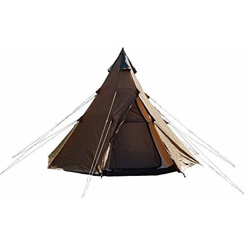 カナディアンイースト(Canadian East) アウトドア キャンプ ワンポールテント 300 [4人用] 軽量 組み立て簡単