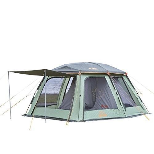 ロゴス(LOGOS) テント 4~5人用 Q-インセクト2ルーム-AE 71458004 組立て目安5分