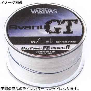 VARIVAS(バリバス) PEライン アバニGT マックスパワー 600m 12号 170lb 8本 レッド