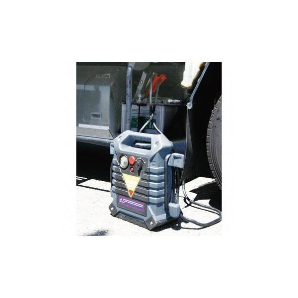 ジャンプスターター パワーブースター 12V 24V 両用 エンジンスターター ポータブル 兼用 緊急用 電源 バッテリー非常用電源 パワーパック スターティングパック|amcom|02