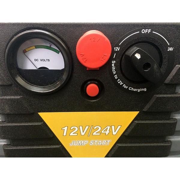ジャンプスターター パワーブースター 12V 24V 両用 エンジンスターター ポータブル 兼用 緊急用 電源 バッテリー非常用電源 パワーパック スターティングパック|amcom|04