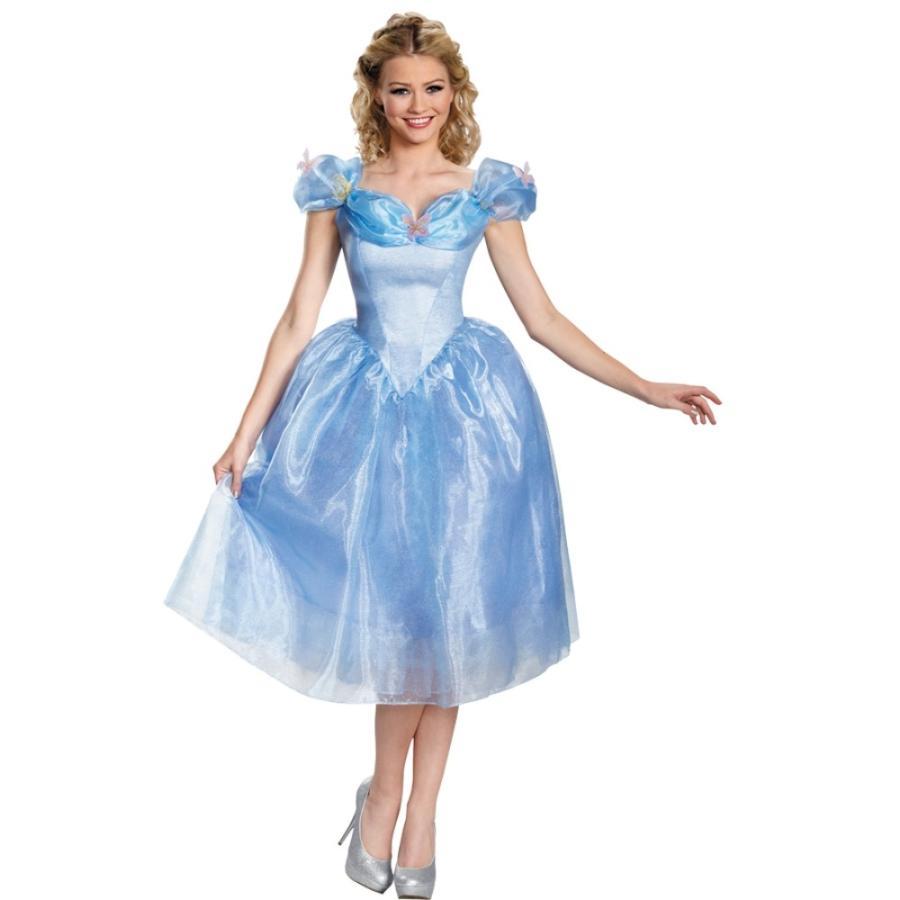 シンデレラ 衣装、コスチューム 大人女性用 ディズニー MOVIE  Cinderella
