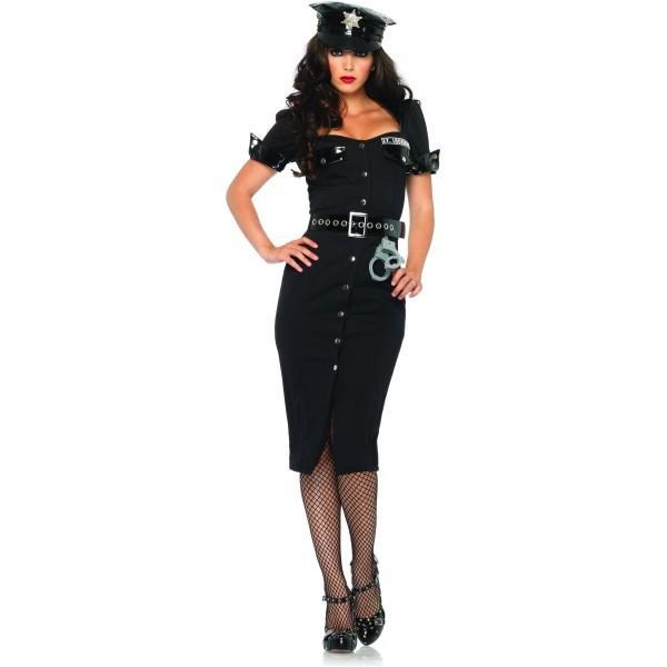 コスプレポリス 衣装 人気 女警察 ポリス 衣装 、コスチューム 大人女性用 Lt. Lockdown