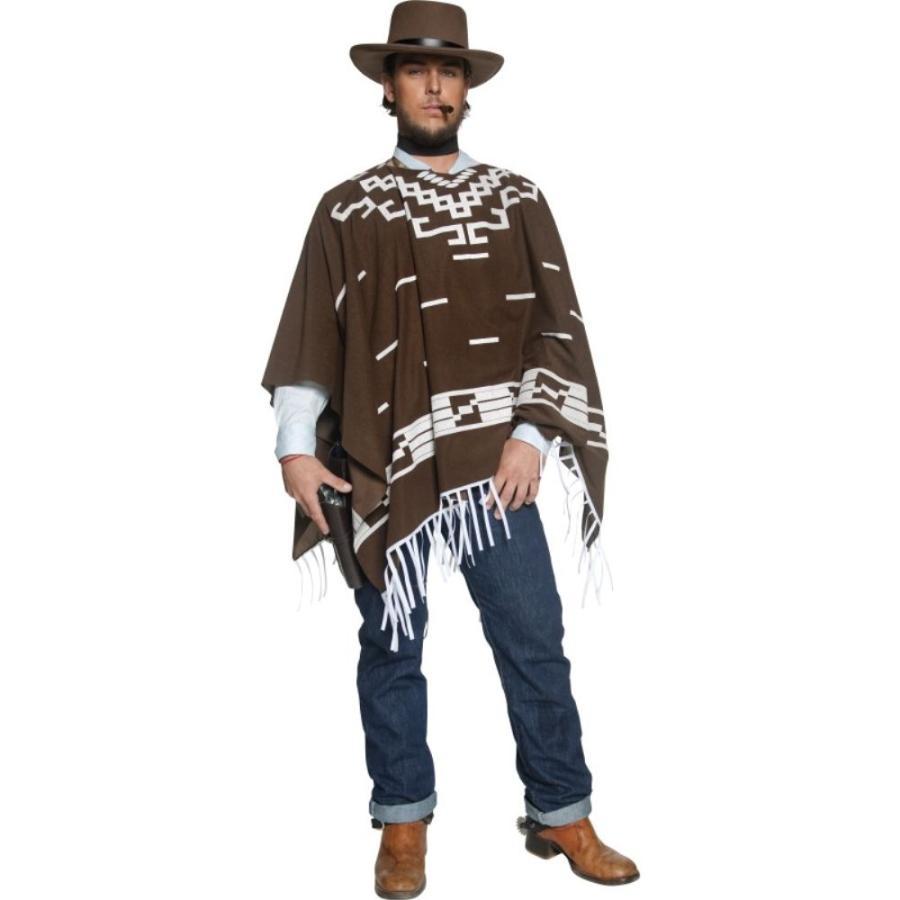 夕陽のガンマン風 衣装 コスチューム 大人男性用 西部劇 クリント・イーストウッド風