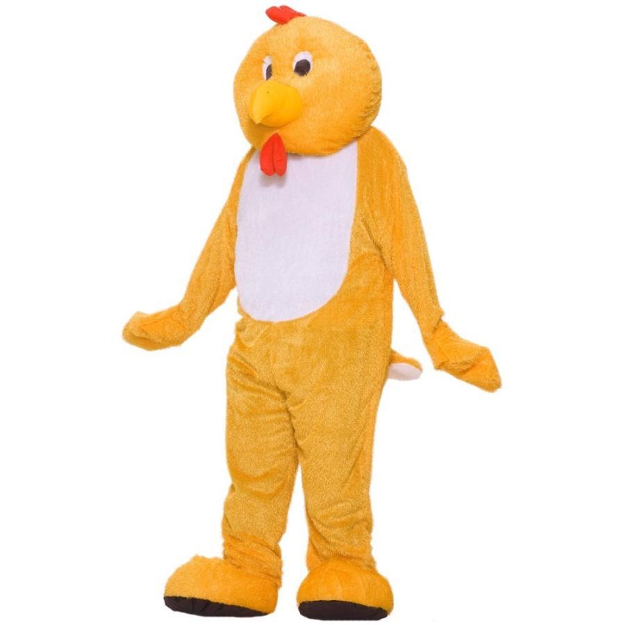 チキン 鶏 衣装、コスチューム デラックス マスコット 大人男性用 Chicken