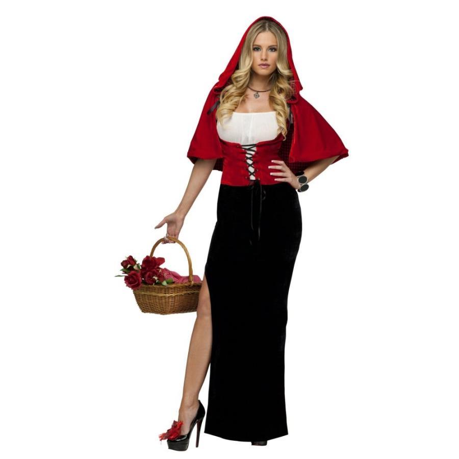 セクシー・レッド 赤ずきん 衣装、コスチューム 大人女性用