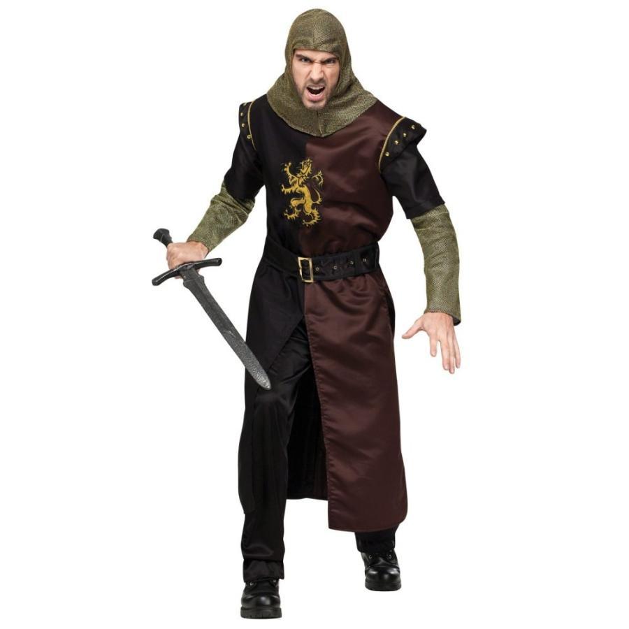勇敢な騎士 衣装、コスチューム 大人男性用