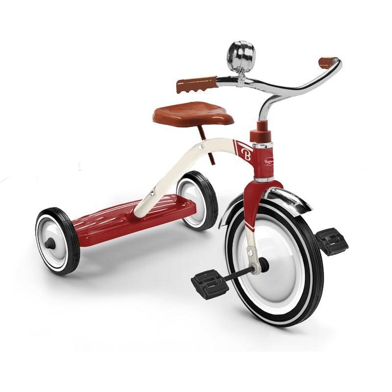 Trike Vintage 赤 Baghera(バゲーラ)社 ペダルカー ライドオン 乗用玩具 三輪車 キッズ 子供 インテリア レッド 組み立て式