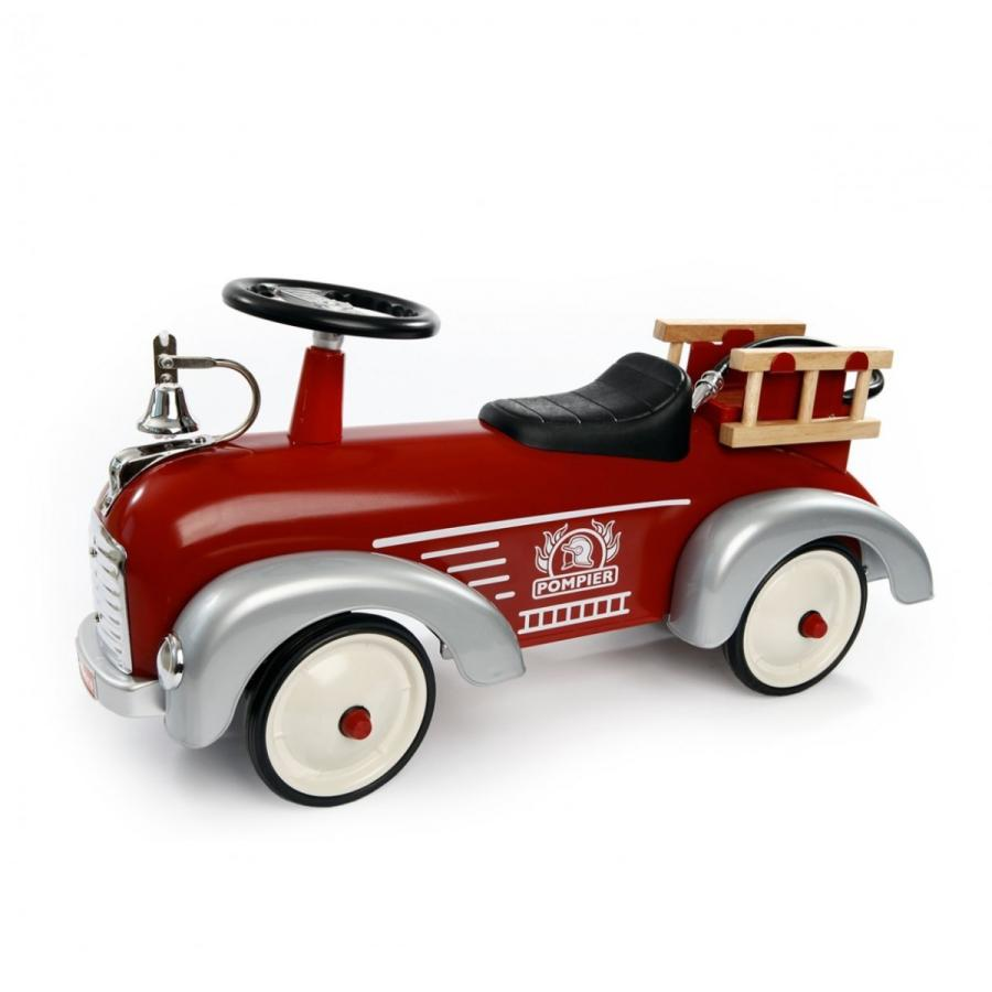 Speedster Pompier Baghera(バゲーラ)社 ライドオン 消防車 乗用玩具 キッズ 子供 インテリア レッド 組み立て式