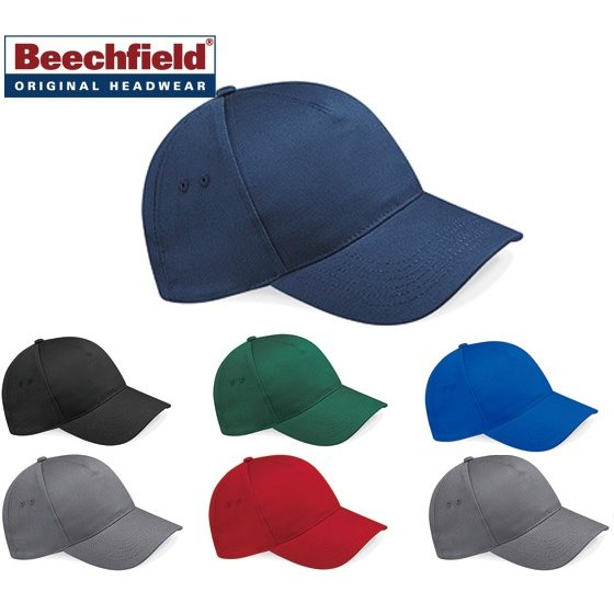 Classic Red One Size Beechfield BC015 Ultimate 5 Panel Cap