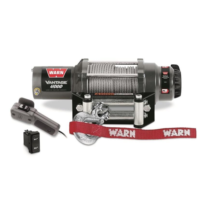 Warn社 Vantage ヴァンテージ4000ウインチ 12V 1800kgの容量 89040 並行輸入品