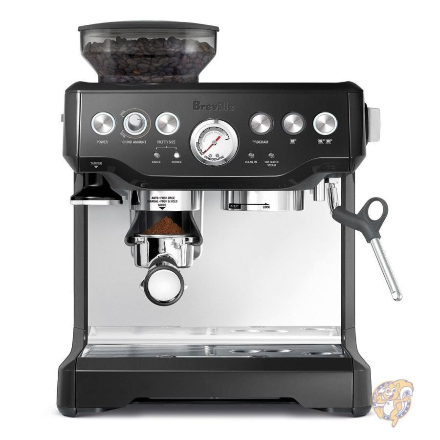 Breville ブレビル The Barista Express  コーヒーマシーン コーヒーメーカー エスプレッソ ラテメーカ 2 ブラック BES870BSXL
