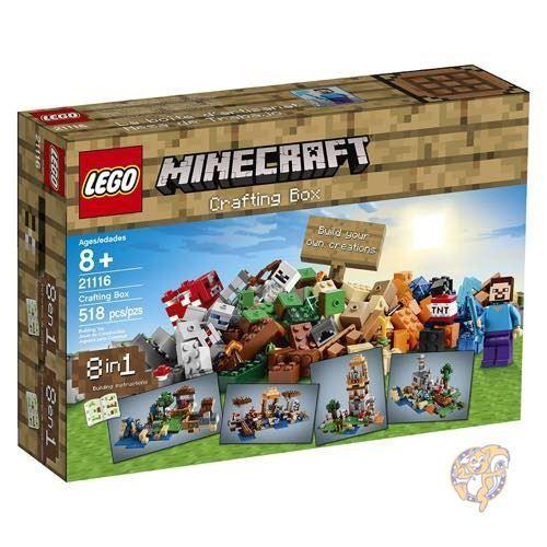 LEGO Minecraft 21116 Crafting Box 並行輸入品