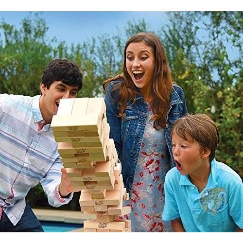 ジェンガ Jenga ジャイアント ファミリー ハードウッド 木材 ゲーム 01506-19-noAcc 並行輸入品|americapro|02