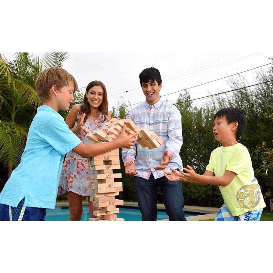 ジェンガ Jenga ジャイアント ファミリー ハードウッド 木材 ゲーム 01506-19-noAcc 並行輸入品|americapro|03