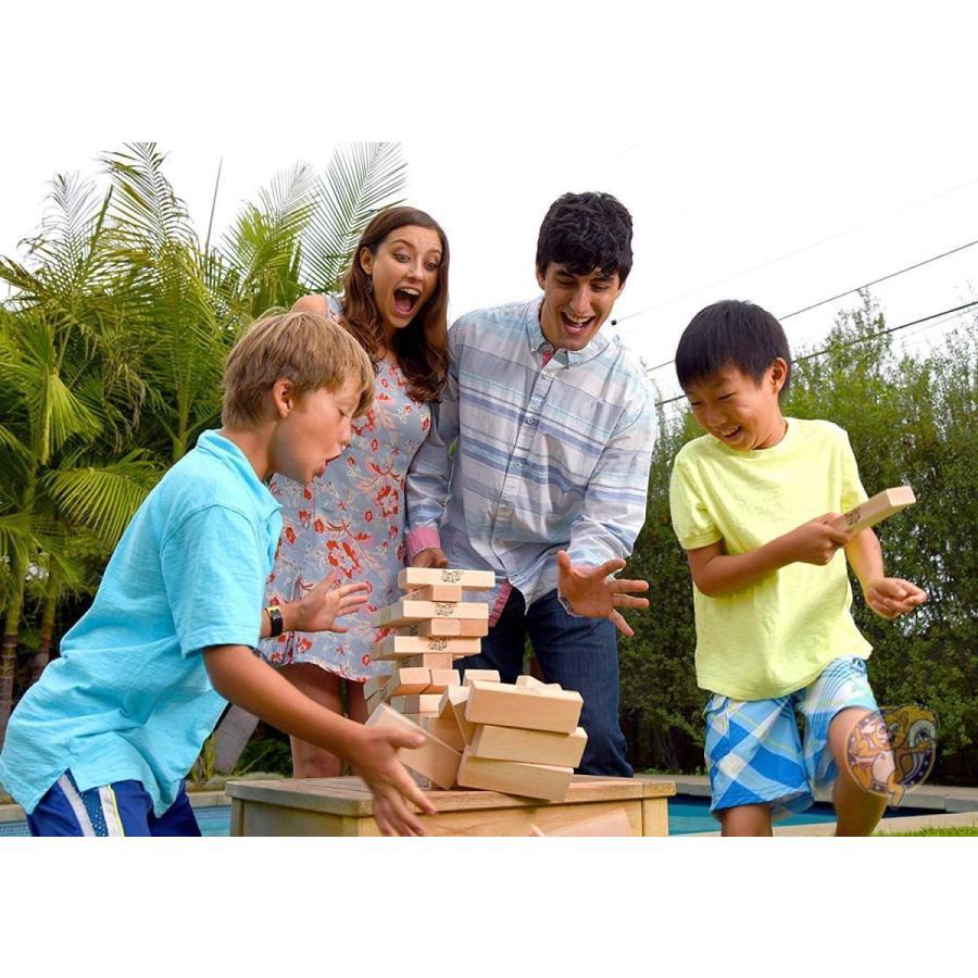 ジェンガ Jenga ジャイアント ファミリー ハードウッド 木材 ゲーム 01506-19-noAcc 並行輸入品|americapro|04