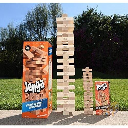 ジェンガ Jenga ジャイアント ファミリー ハードウッド 木材 ゲーム 01506-19-noAcc 並行輸入品|americapro|05