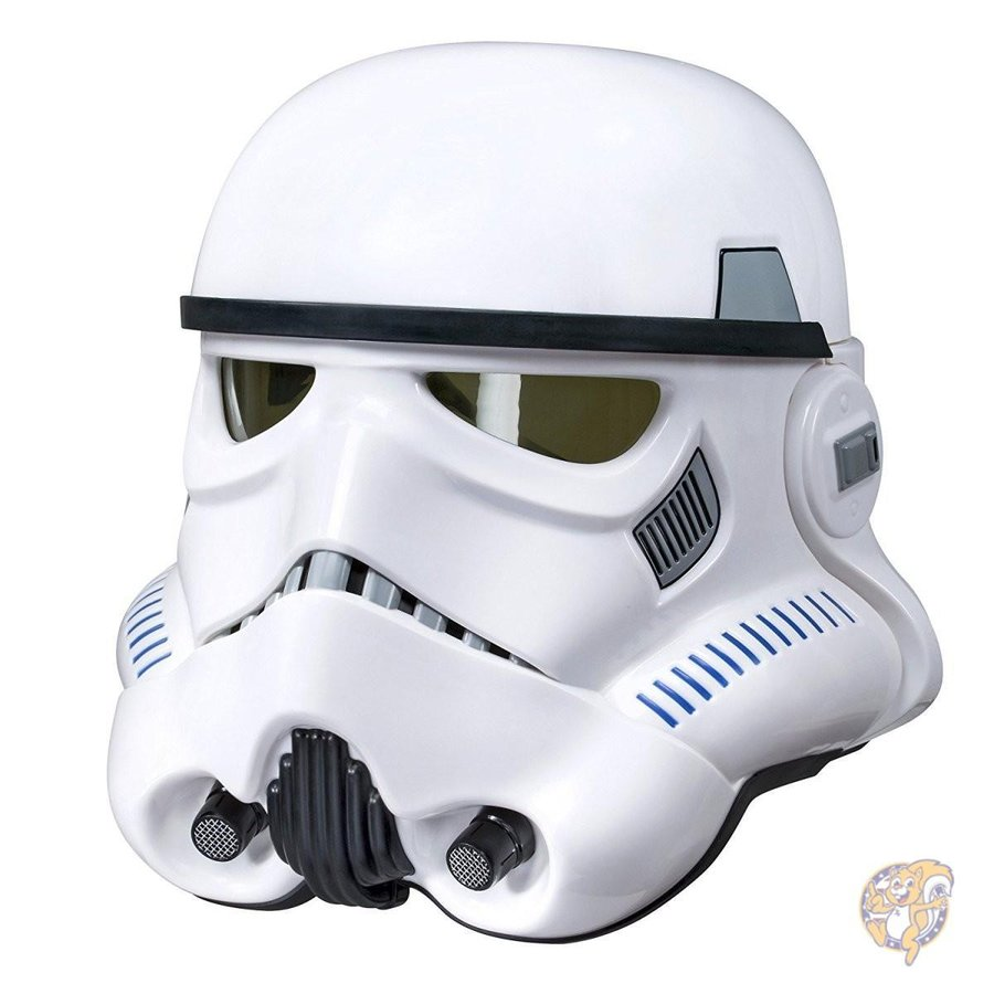 Star Wars The 黒 Series Imperial Stormtrooper Electronic Voice Changer Helmet並行輸入