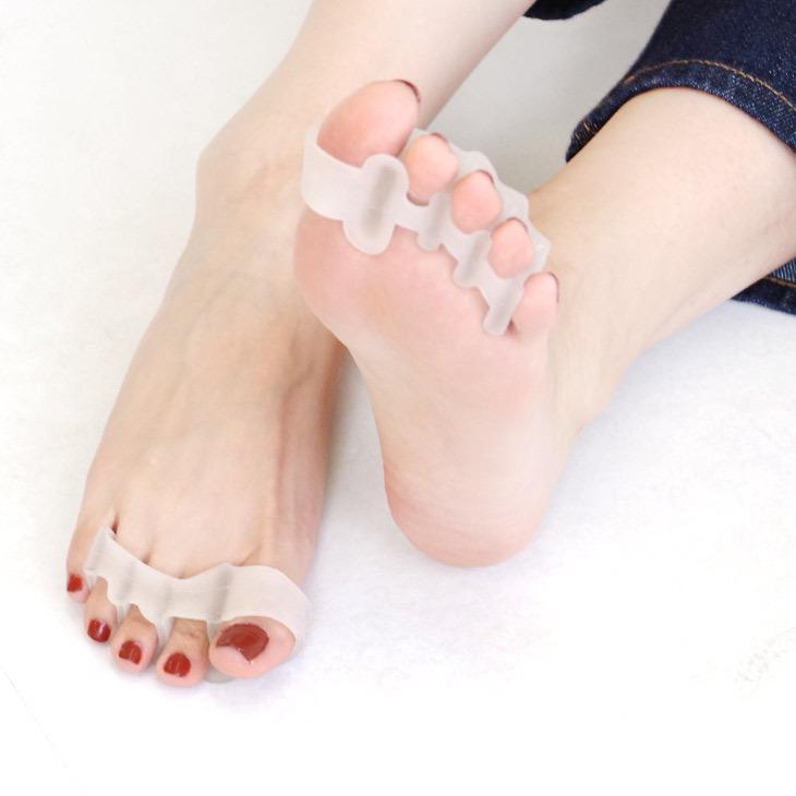 足指セパレーター 足指パッド 男女兼用 レディース 健康グッズ セール 血行促進 返品不可 メンズ