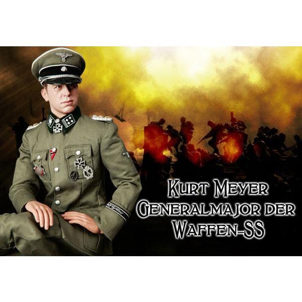 武装親衛隊少将 クルト・マイヤー アクションフィギュア 単品[DID]《在庫切れ》