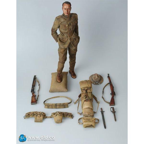 A11010S バック・ジョーンズ 米遠征軍歩兵 1917 スペシャル・リミテッド・エディション アクションフィギュア[DID]《在庫切れ》