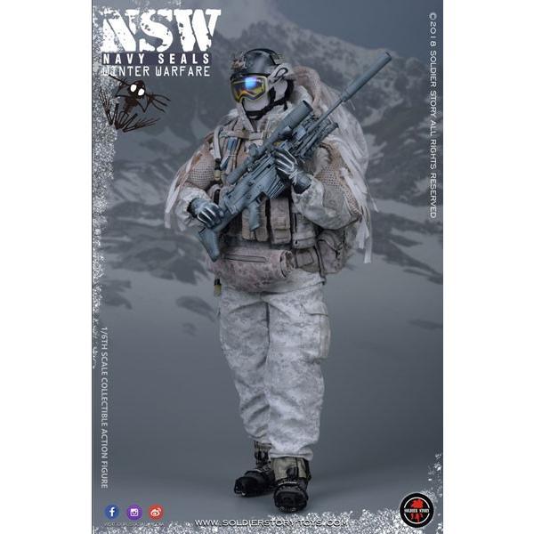 1/6 ネイビーシールズ NSW ウィンター ウォーフェア マークスマン[Soldier Story]【送料無料】《09月仮予約》