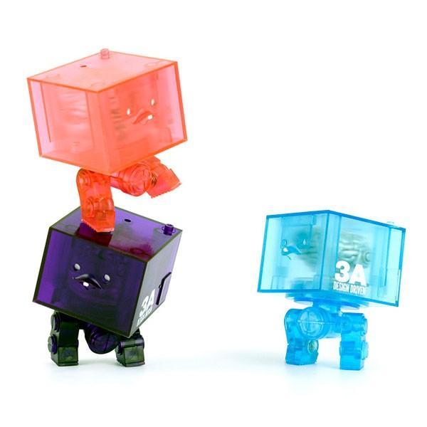 World War Robot(ワールド・ウォー・ロボット) 3AGO Clear Square R1 Set(クリア・スクウェアR1・セット)[スリー・エー]《10月予約》