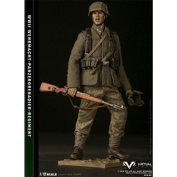 1/12 ポケットエリートシリーズ WWWII ドイツ国防軍 装甲擲弾兵師団[VTSトイズ]《12月仮予約》
