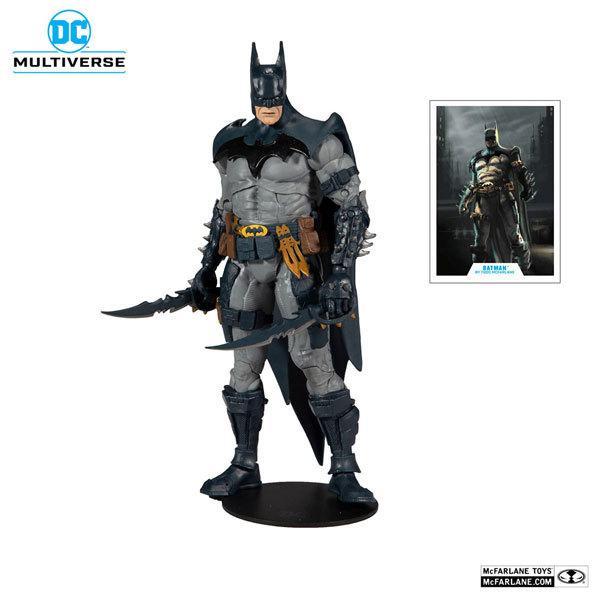 DCマルチバース 7インチ アクションフィギュア #049 バットマン 人気ブランド ブルースーツ マクファーレン版 在庫品》 《発売済 マクファーレントイズ トッド アイテム勢ぞろい