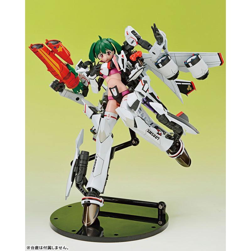ACKS V.F.G. マクロスF VF-25F メサイア ランカ・リー プラモデル[アオシマ]《05月予約》|amiami|06