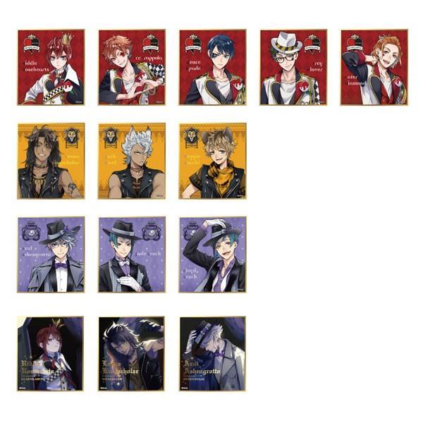 ディズニー ツイステッドワンダーランド ビジュアル色紙コレクションvol.1 14個入りBOX[エンスカイ]【送料無料】《発売済・在庫品》|amiami