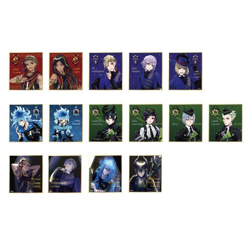 ディズニー ツイステッドワンダーランド ビジュアル色紙コレクションvol.2 15個入りBOX[エンスカイ]【送料無料】《発売済・在庫品》 amiami 02