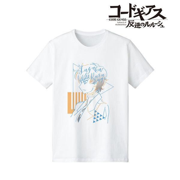 コードギアス 反逆のルルーシュ スザク lette-graph Tシャツ メンズ L[アルマビアンカ]《04月予約》|amiami