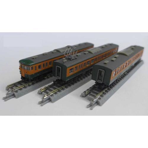 T011-7 115系1000番代 湘南色 3両セット[ロクハン]《在庫切れ》
