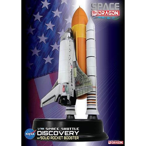 """完成品 1/144 スペースシャトル """"ディスカバリー"""" ブースター付(内部再現)(再販)[スペースドラゴンウイングス]《在庫切れ》"""