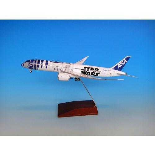 STAR WARS特別塗装機 1/200 B787-9 JA873A R2-D2 ANA JET スナップモデルキット(ギアつき)[全日空商事]《在庫切れ》