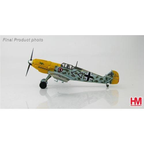 """1/48 Bf-109E-4 メッサーシュミット""""ハンス・ハーン""""[ホビーマスター]《在庫切れ》"""